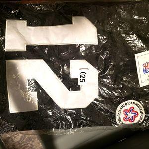Terry Bradshaw Black Mitchell and Ness jersey